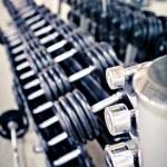 Gym room — Stock Photo #12492019