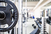 Gym room — Stockfoto