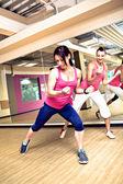 Gym meisje — Stockfoto