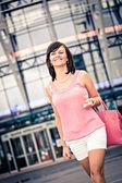 Nakupovat ve městě — Stock fotografie