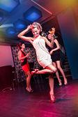 On the dancefloor — Stock Photo