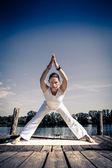Yoga — Stok fotoğraf