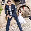 Wedding golf - Foto Stock