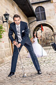 Düğün golf — Stok fotoğraf