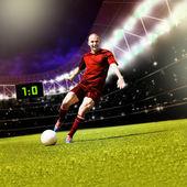 Football game — Stock Photo