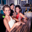In the bar - Stockfoto