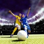 Постер, плакат: Football game