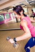 Gym girl — Photo