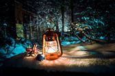 Lampada di natale — Foto Stock