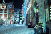 Coburg at night — Stock Photo