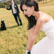Wedding golf — Stock Photo #20054459
