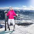 Skier — Stock Photo #21004499