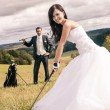 Wedding golf - Foto de Stock