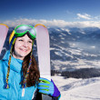 Skier — Stock Photo #21331157
