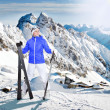 Skier — Stock Photo #21445105