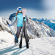 Skier — Stock Photo #21445139