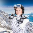 Skier — Stock Photo #21483465