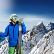 Skier — Stock Photo #21511037