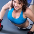 Tae Bo Girl - Stock Photo