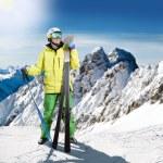 Skier — Stock Photo #21733051