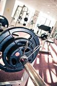 Gym room — Stockfoto