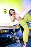 Chicas de aeróbic — Foto de Stock