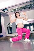 Chica de aeróbic — Foto de Stock