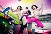 Aerobic-mädchen — Stockfoto
