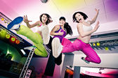 Aerobics girls — Stock fotografie
