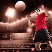 Gioco di calcio — Foto Stock