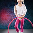 Little Fitness Girl - Stockfoto