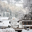 Bayrischzell in winter - Stock Photo