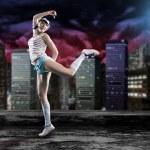 Постер, плакат: Dancing girl