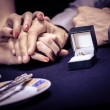 Engagement ring — Stock Photo #26627023