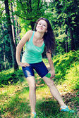 Jogging woman — Photo