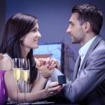 Engagement ring — Stock Photo #27549049