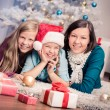 Xmas girls — Stock Photo #28623571