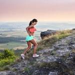Постер, плакат: Running to the peak