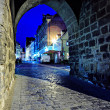 Coburg at night — Stock Photo