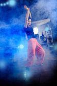 Aerobics girl — Stock Photo