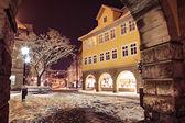 Coburg à noite — Foto Stock
