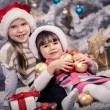 Xmas girls — Stock Photo #35665245