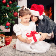 Xmas girls — Foto Stock