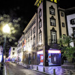 Funchal by night — Stock Photo