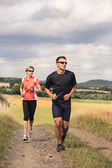 Jogging menschen — Stockfoto