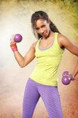 Fitness Girl — Foto Stock