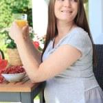 Pregnant woman — Stock Photo #39318705