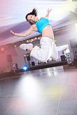 Aerobics girl — Zdjęcie stockowe