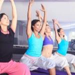 Yoga girls — Stock Photo #40663869