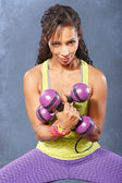 Fitness Girl — Stockfoto